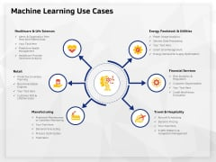 AI High Tech PowerPoint Templates Machine Learning Use Cases Infographics PDF