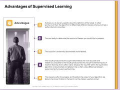 AI Machine Learning Presentations Advantages Of Supervised Learning Ppt Images PDF