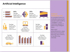 AI Machine Learning Presentations Artificial Intelligence Ppt Professional Infographics PDF