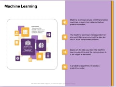 AI Machine Learning Presentations Machine Learning Ppt Portfolio Samples PDF