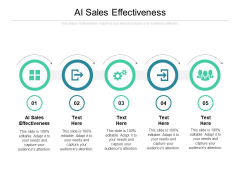 AI Sales Effectiveness Ppt PowerPoint Presentation Gallery Layout Ideas Cpb