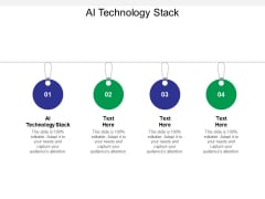 AI Technology Stack Ppt PowerPoint Presentation Ideas Shapes Cpb