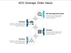 AOV Average Order Value Ppt PowerPoint Presentation Slides Graphics Pictures Cpb