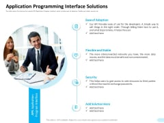 API Integration Software Development Application Programming Interface Solutions Professional PDF