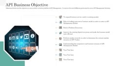 API Management Market API Business Objective Diagrams PDF