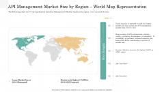 API Management Market API Management Market Size By Region World Map Representation Guidelines PDF