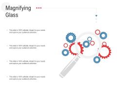 API Outline Magnifying Glass Ppt Model Diagrams PDF