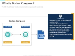 A Step By Step Guide To Continuous Deployment What Is Docker Compose Themes PDF