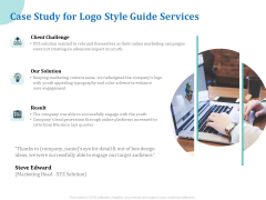 A Step By Step Guide To Creating Brand Guidelines Case Study For Logo Style Guide Services Sample PDF