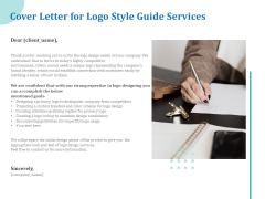A Step By Step Guide To Creating Brand Guidelines Cover Letter For Logo Style Guide Services Clipart PDF