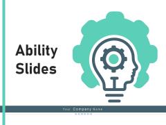 Ability Slides Arketing Leadership Ppt PowerPoint Presentation Complete Deck