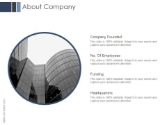 About Company Ppt PowerPoint Presentation Introduction