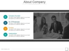 About Company Ppt PowerPoint Presentation Portfolio Template