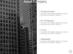 About Company Ppt PowerPoint Presentation Summary Graphics Design