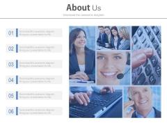 About Customer Care Service Slide Design Powerpoint Slides