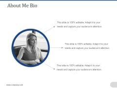 About Me Bio Ppt PowerPoint Presentation Styles Themes