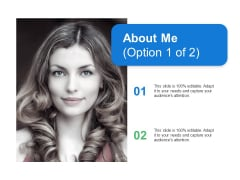 About Me Management Ppt PowerPoint Presentation Infographic Template Layouts