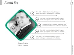 About Me Ppt PowerPoint Presentation Background Designs