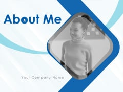 About Me Ppt PowerPoint Presentation Complete Deck With Slides