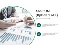 About Me Ppt PowerPoint Presentation Ideas Show