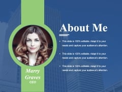 About Me Ppt PowerPoint Presentation Infographic Template Graphic Tips