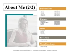 About Me Ppt PowerPoint Presentation Infographics Graphics Download