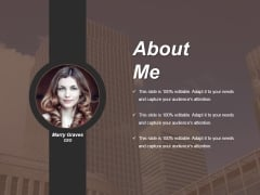 About Me Ppt PowerPoint Presentation Layouts Graphics