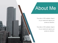 About Me Ppt PowerPoint Presentation Professional Sample