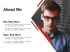About Me Template 1 Ppt PowerPoint Presentation Infographic Template Designs