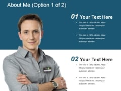 About Me Template 1 Ppt PowerPoint Presentation Inspiration Influencers