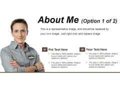 About Me Template 1 Ppt PowerPoint Presentation Professional Infographics