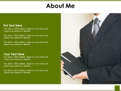 About Me Template 1 Ppt PowerPoint Presentation Summary Brochure