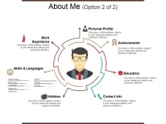 About Me Template 2 Ppt PowerPoint Presentation Ideas Examples