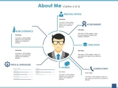 About Me Template 2 Ppt PowerPoint Presentation Infographic Template Gallery
