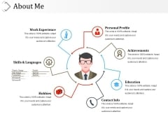 About Me Template 2 Ppt PowerPoint Presentation Infographic Template Tips
