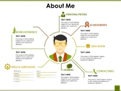 About Me Template 2 Ppt PowerPoint Presentation Infographics Mockup