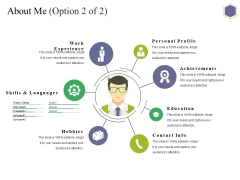 About Me Template 2 Ppt PowerPoint Presentation Inspiration Background Designs