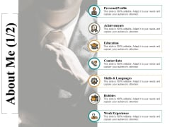 About Me Work Experience Ppt PowerPoint Presentation Gallery Background Designs