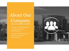 About Our Company Ppt PowerPoint Presentation Graphics
