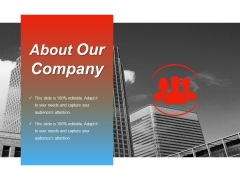 About Our Company Ppt PowerPoint Presentation Icon Background Designs