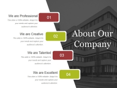 About Our Company Ppt PowerPoint Presentation Ideas Guide