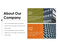 About Our Company Ppt PowerPoint Presentation Ideas Infographic Template
