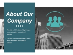About Our Company Ppt PowerPoint Presentation Outline Backgrounds