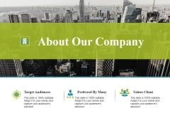 About Our Company Ppt PowerPoint Presentation Outline Design Inspiration