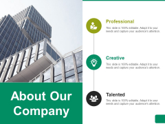 About Our Company Ppt PowerPoint Presentation Pictures Designs