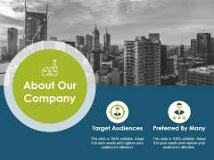 About Our Company Ppt PowerPoint Presentation Pictures Professional