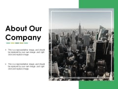 About Our Company Ppt PowerPoint Presentation Portfolio Deck
