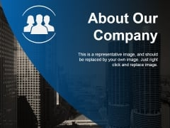 About Our Company Ppt PowerPoint Presentation Portfolio Topics