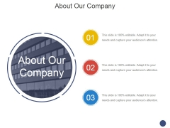 About Our Company Ppt PowerPoint Presentation Professional Gridlines