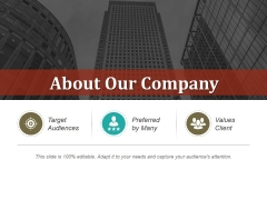 About Our Company Ppt PowerPoint Presentation Styles Files